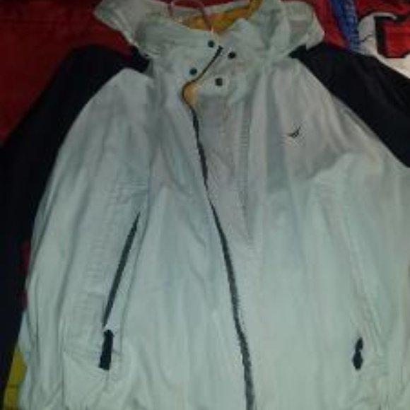 Men Large Nautica coat, reversible